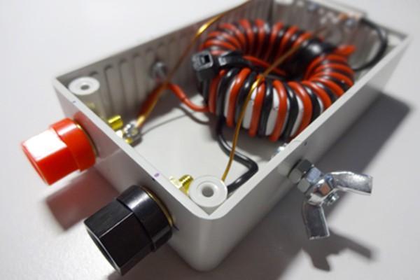 Balun 1:1 undefinierte Impedanzen (200W)