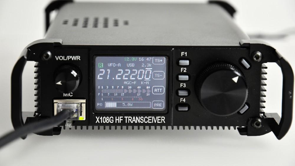 Xiegu X108G outdoor version   HamRadio Station - DO7PSL - Stephan Lange