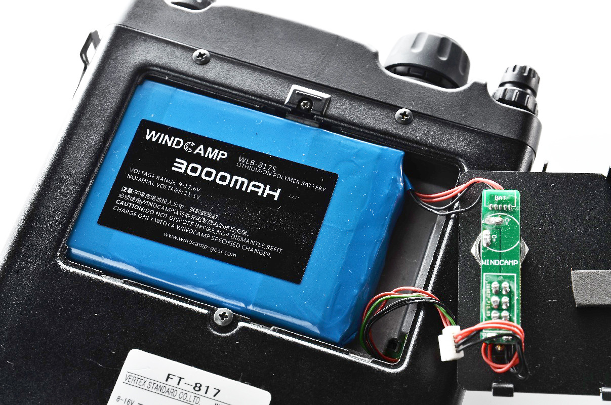 Lipo Battery 3000mah With Charger For Yaesu Ft-817