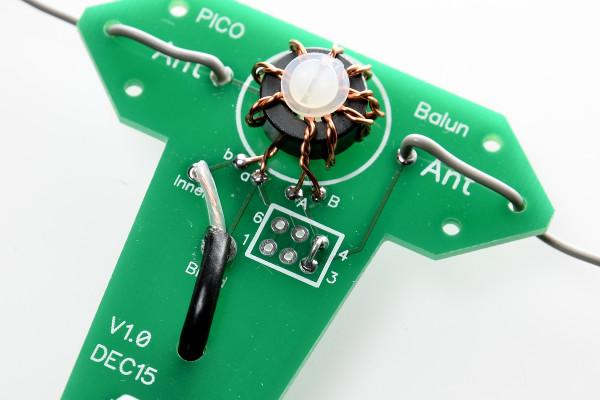 Pico Balun – 1:1 or 4:1 Balun Kit