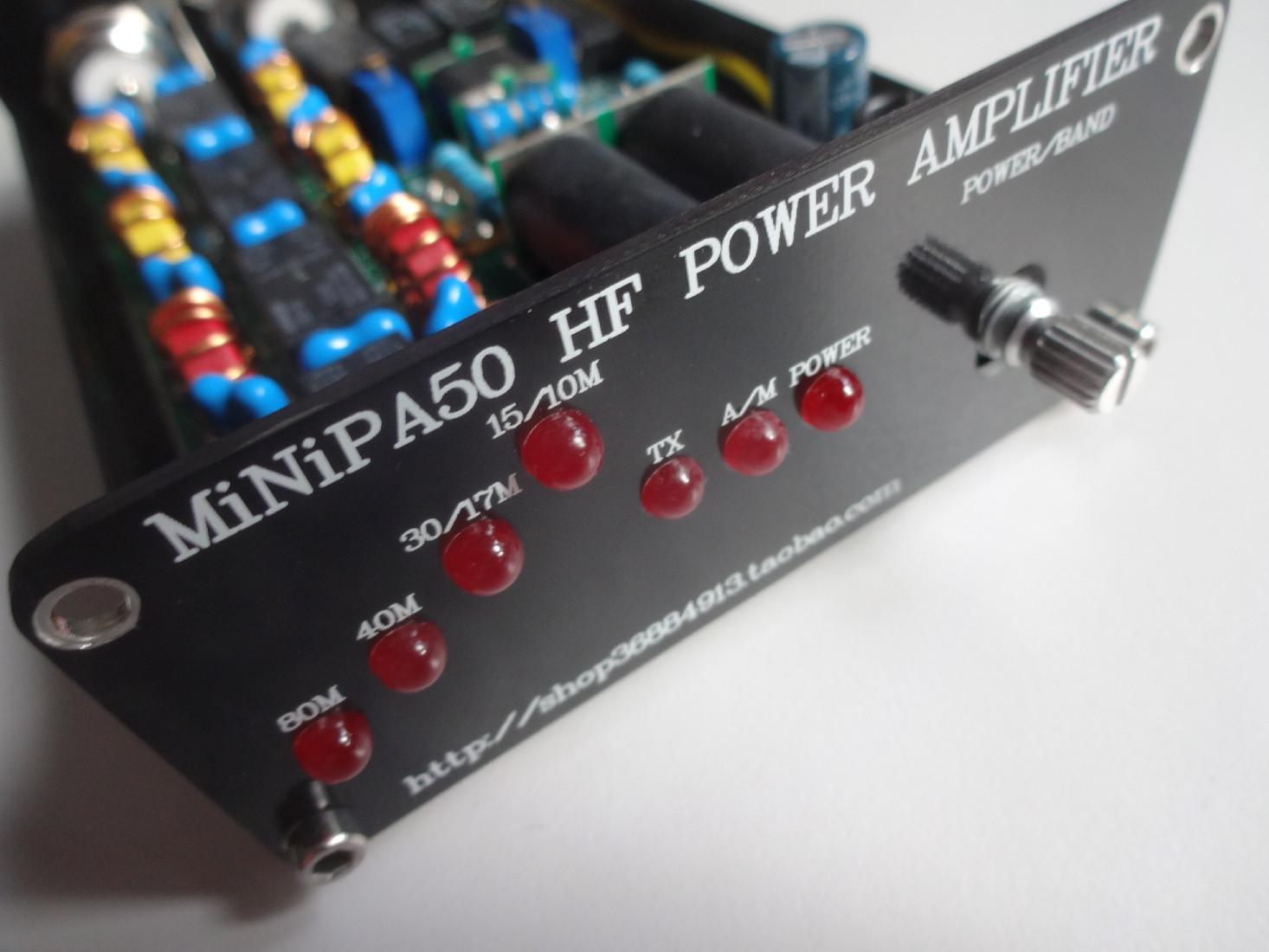 mini pa 45w power amplifier yaesu ft 817nd hamradio station do7psl stephan lange. Black Bedroom Furniture Sets. Home Design Ideas