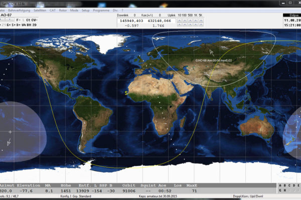 HamRadio Satellite – Amateurfunk Satelliten – Satellitenfunk