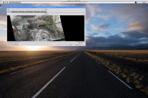 Weather FAX – WxToImg – SAT Bilder – Raspberry PI 3 – Wetterdaten – weewx