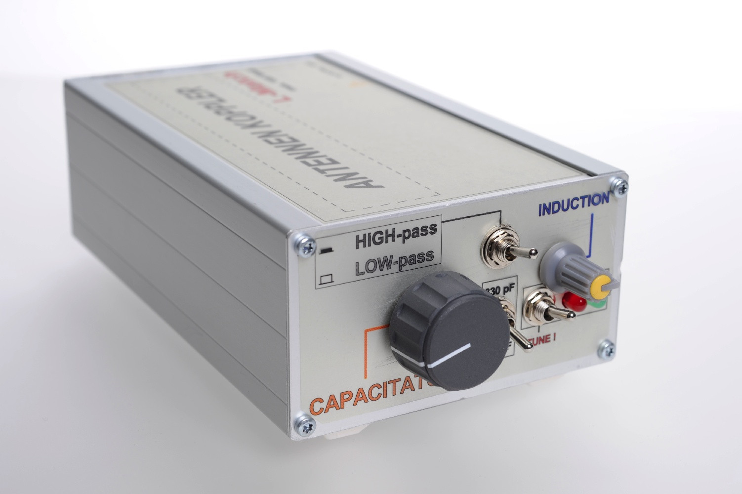 Antenna Tuner – 100 Watt – L-Network – balanced/unbalanced